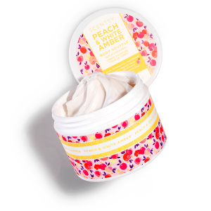 PEACH & WHITE AMBER BODY SOUFFLE